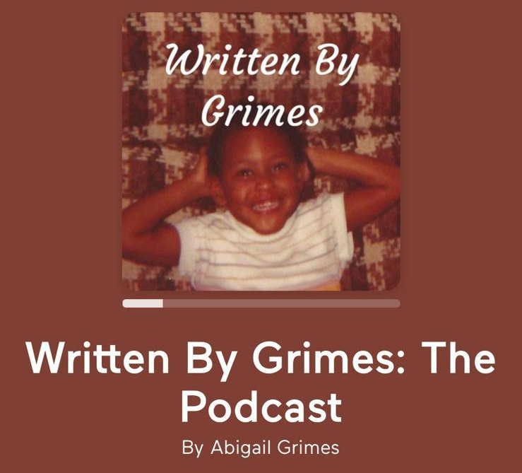 Title Page of Written By Grimes: The Podcast